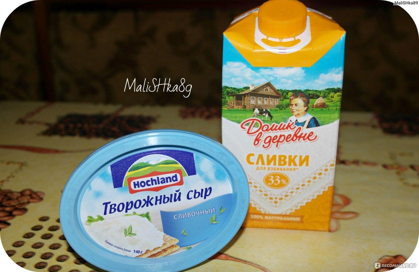 Крем из сливок и сливочного сыра для торта рецепт пошагово
