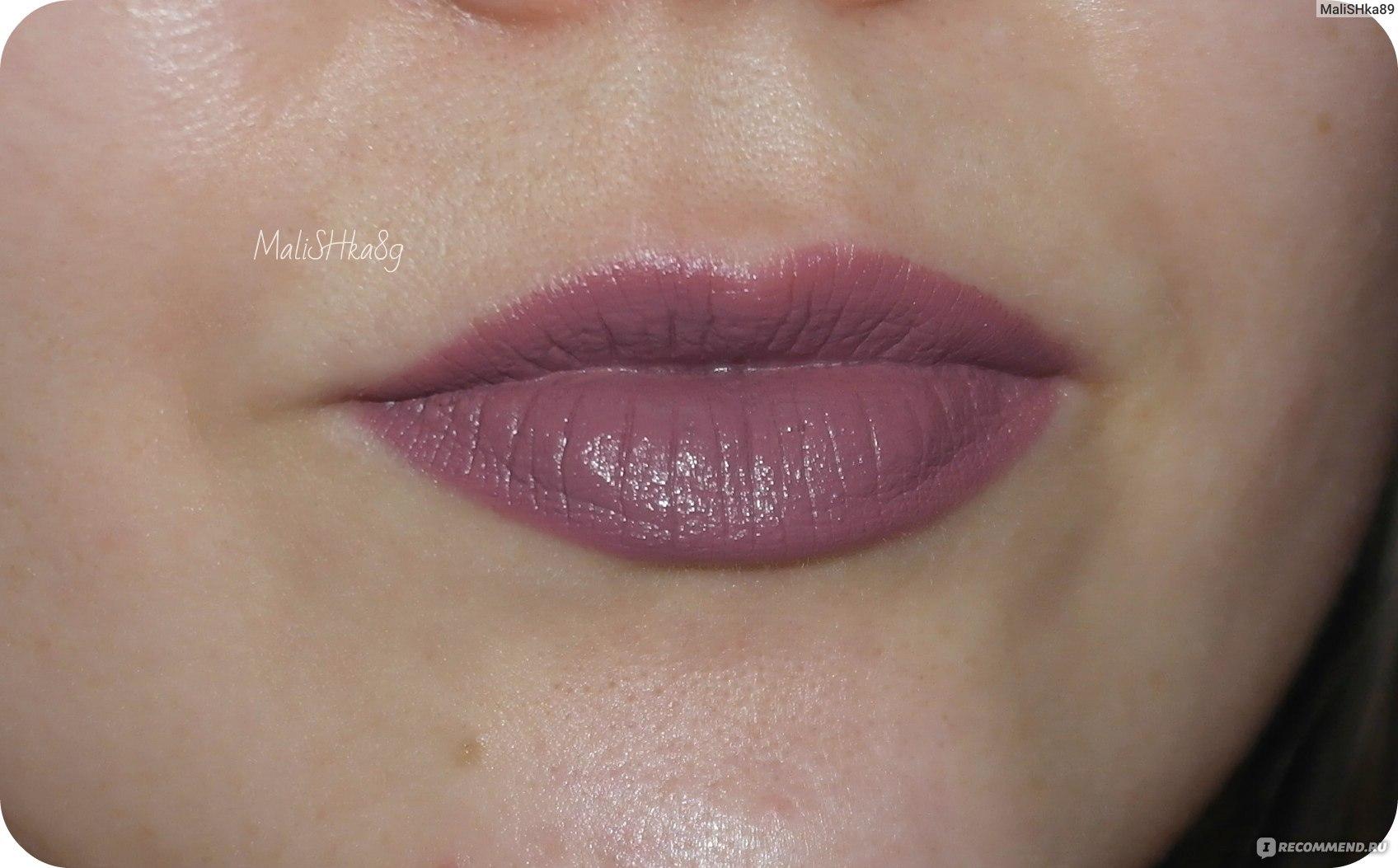 матовая помада для губ Nyx Suede Matte Lipstick лавандово