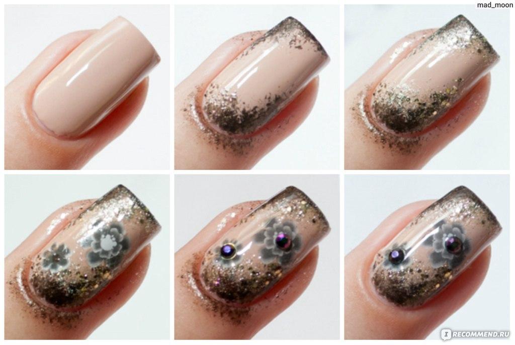 Шлак для ногтей в домашних условиях фото
