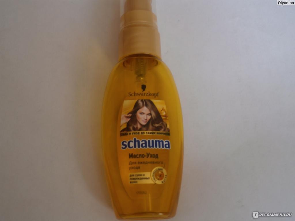 Масло шаума для кончиков волос