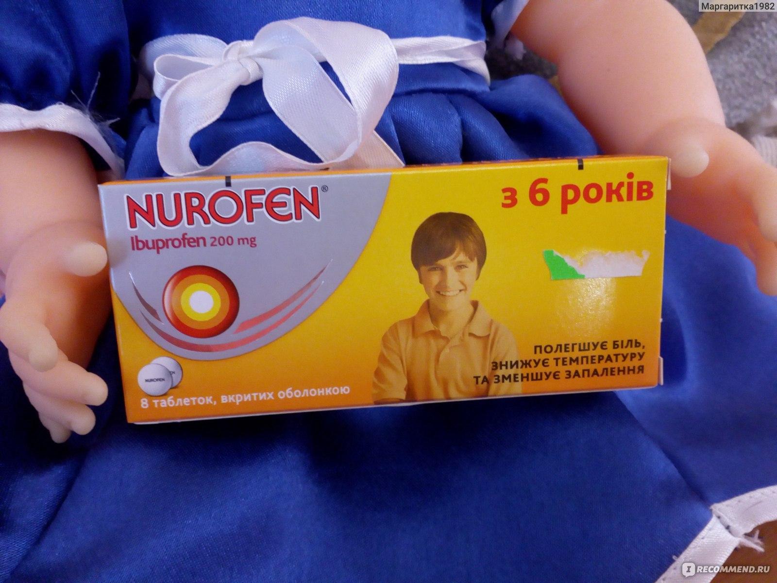 Ответ: нурофен назначают взрослым и детям старше 12 лет внутрь, после еды в таблетках по мг раза в сутки.