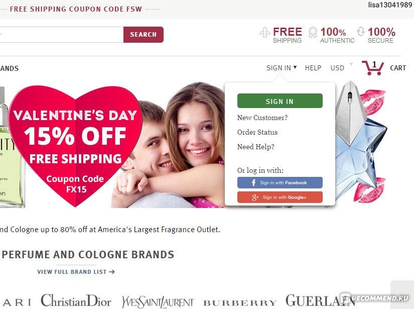 b5b13de5 FragranceX.com - «Американский интернет-магазин парфюмерии и ...