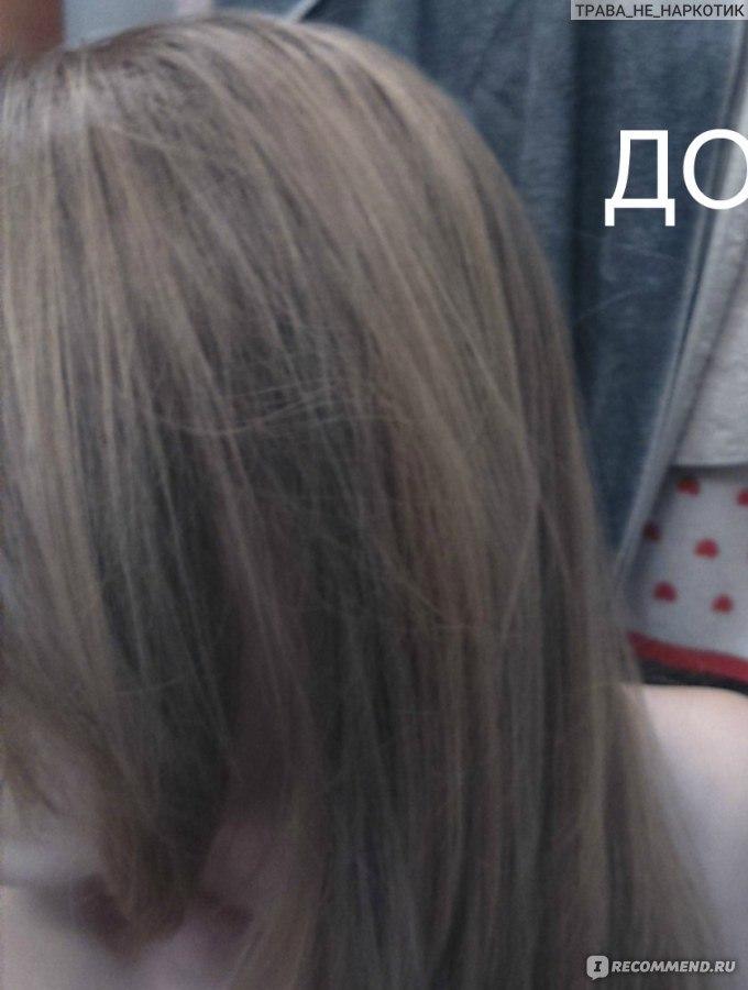Пепельно русый цвет волос тоник