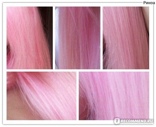 Розовая краска для волос в домашних условиях 313