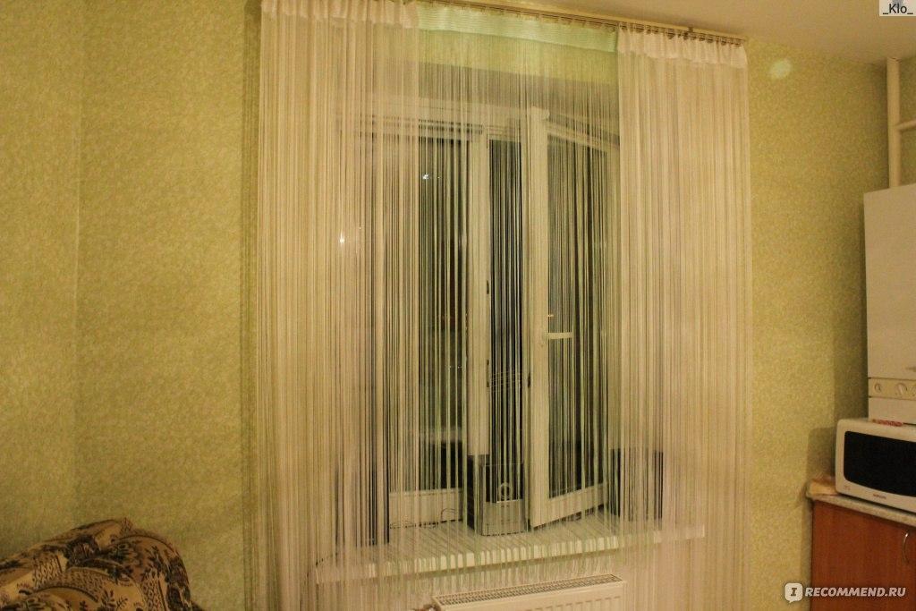 """Нитяные шторы кисея - """"красиво и современно. фото моих окон ."""