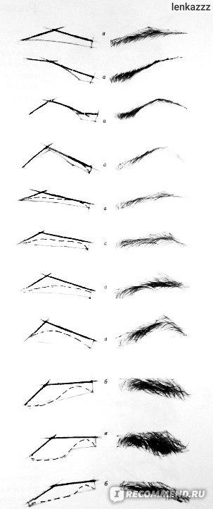 поэтапные картинки как нарисовать брови человека карандашом вечеринка великолепная тема