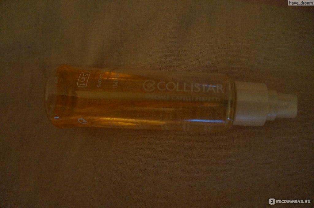 Collistar 5 в 1 масло для волос