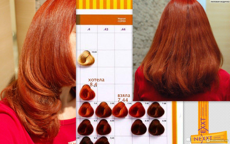 Профессиональные краски для волос фото цветов