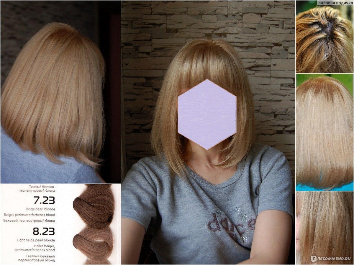 Отзывы о краска для волос капус палитра цветов фото