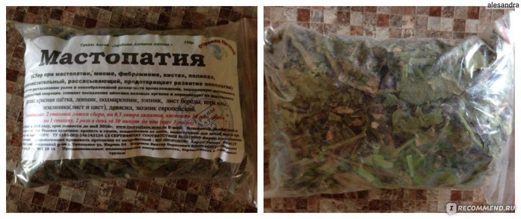 Мастопатия: лечение травами, какие сборы советует