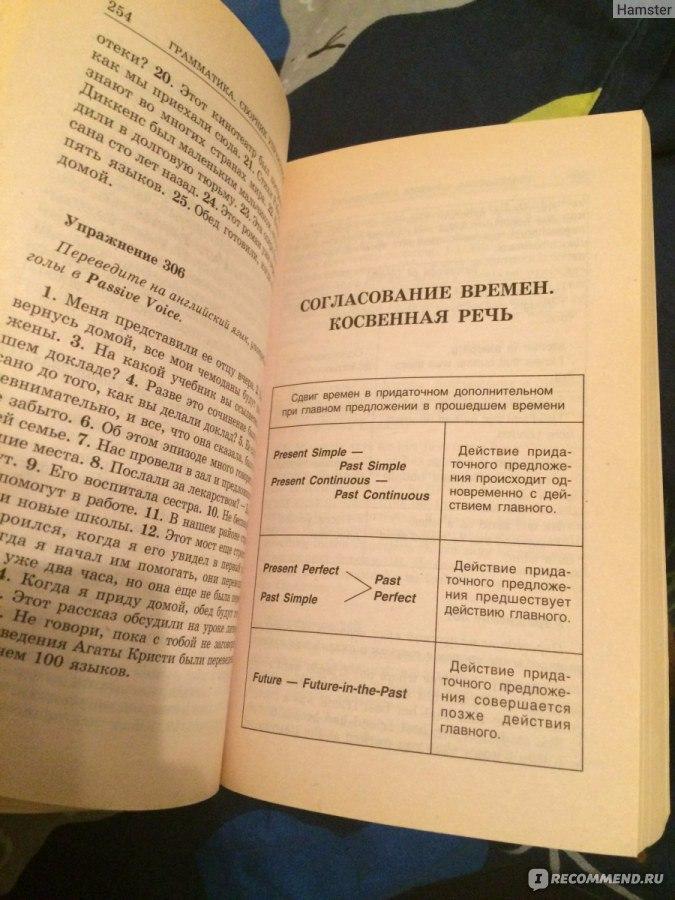 английскому по голицынский по гдз грамматике сборник