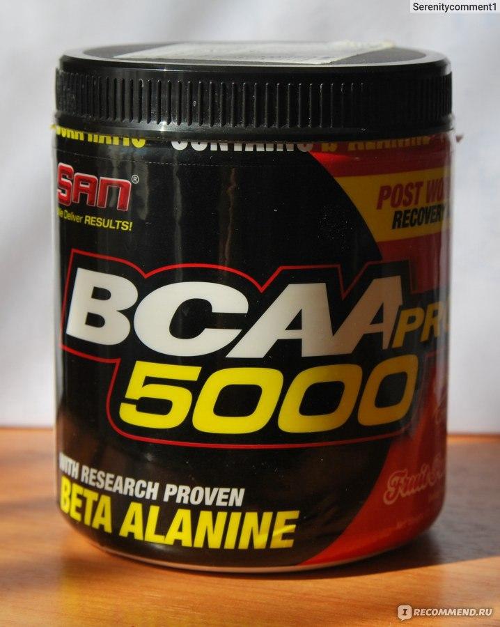 Спортивное питание San BCAA