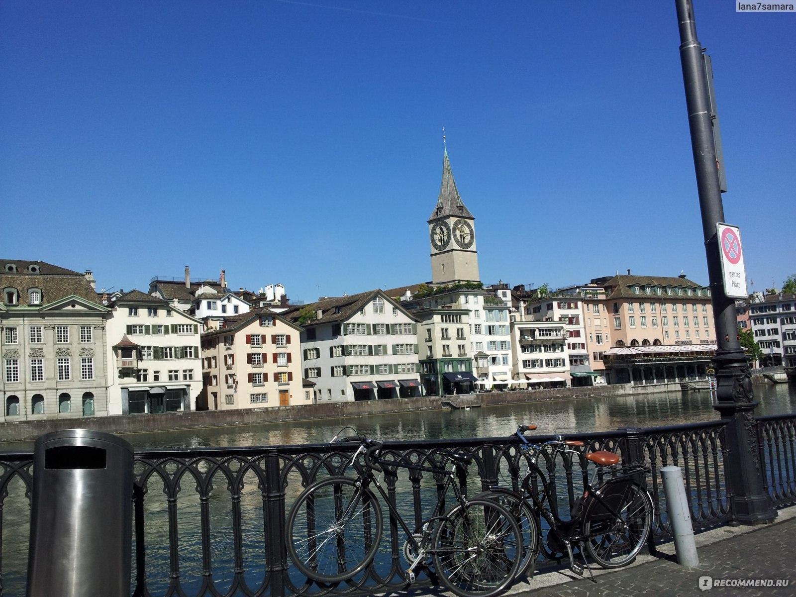Обои швейцария, Switzerland, здания, крыши, Цюрих, дома. Города foto 19