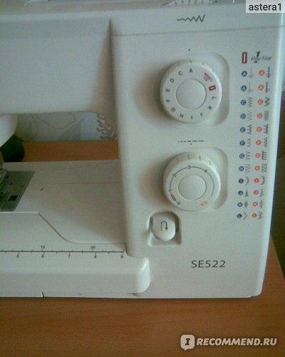 Janome Sewist 525 S инструкция - фото 11