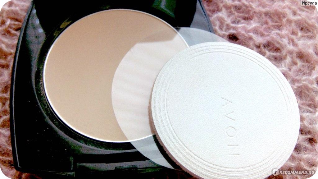 Компакт пудра в эйвон идеальный цвет пойдет для жирной кожи фото 790-762