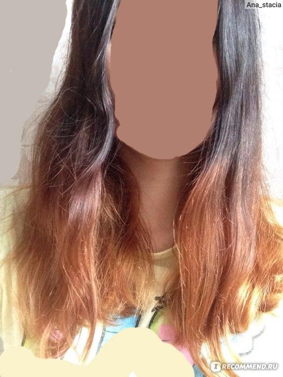 Как осветлить крашеные тёмные волосы в домашних условиях