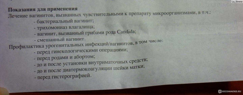Правила использования свечей против молочницы