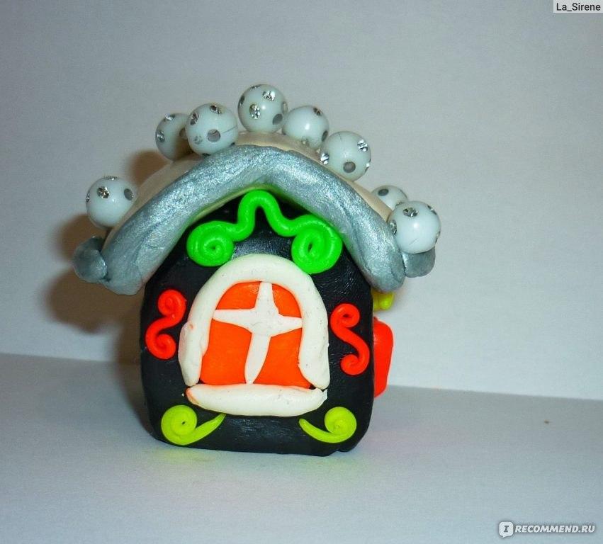 Поделки домик из пластилина своими руками 60