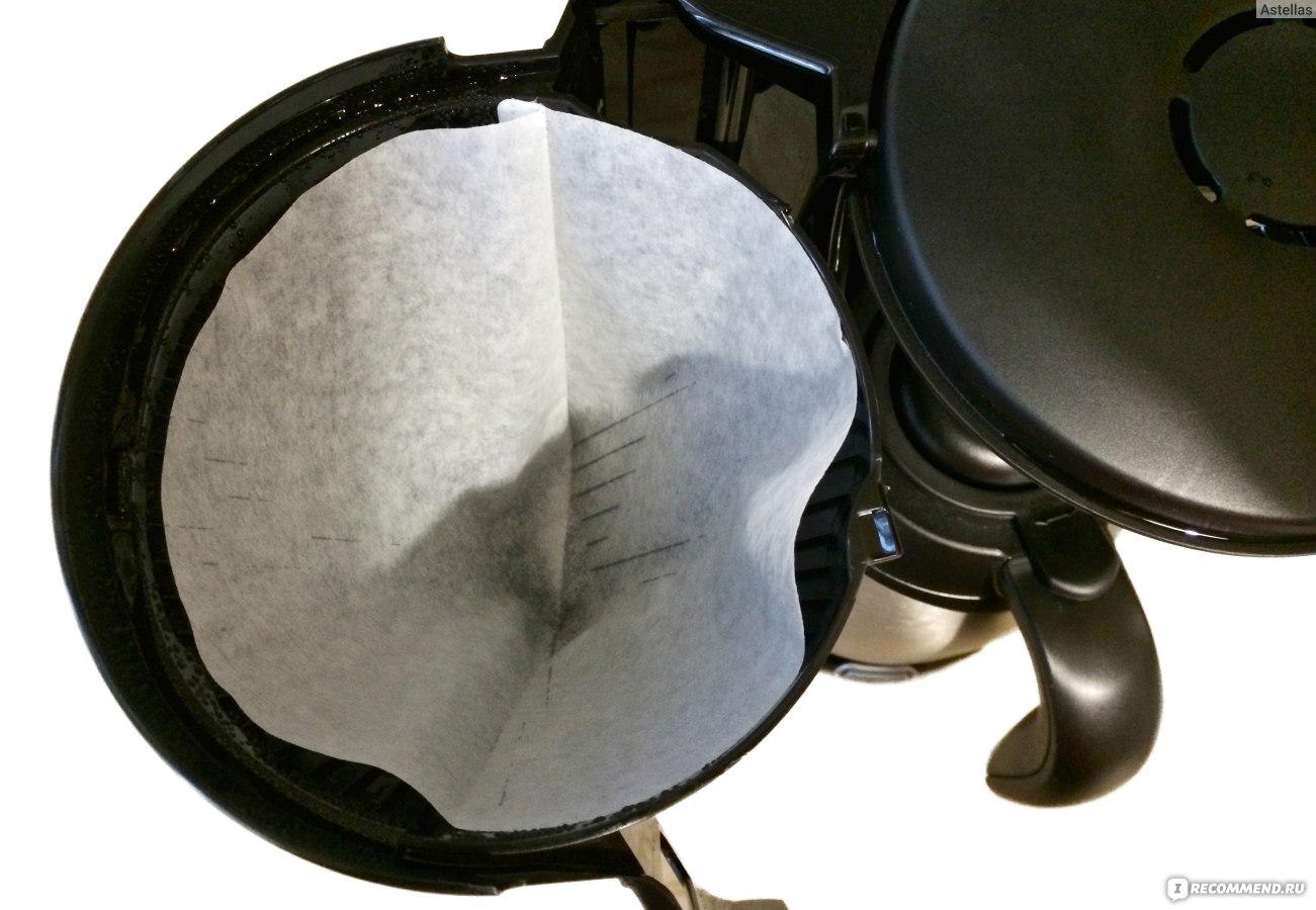 Фильтры для капельной кофеварки своими руками