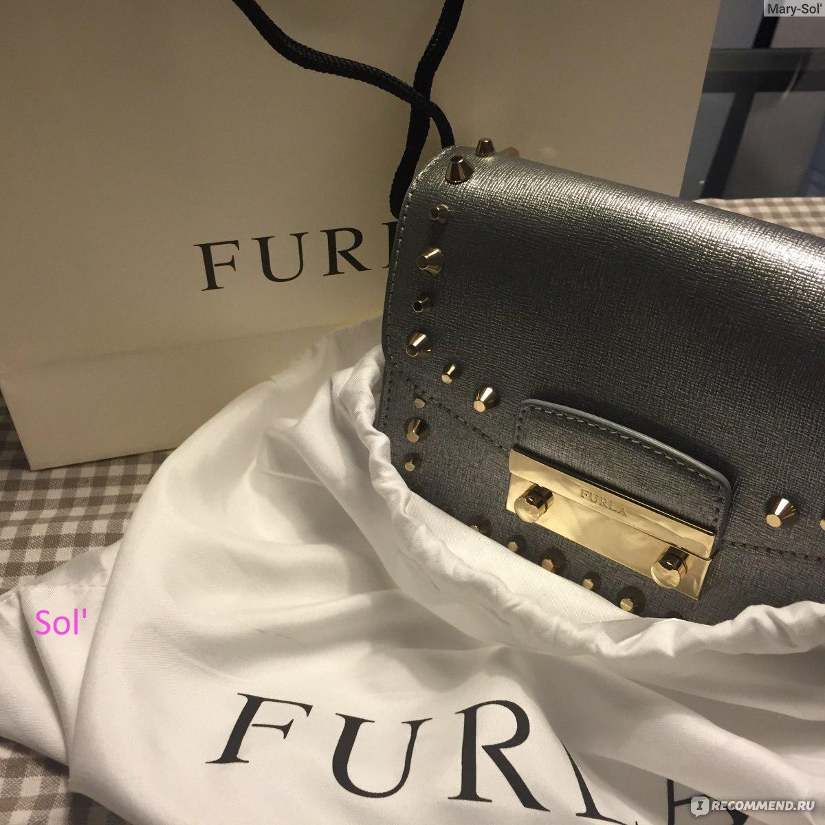 Сумка Женская Furla Julia Mini Leather Crossbody Bag - «Модный ... 8e7cc51e5b7
