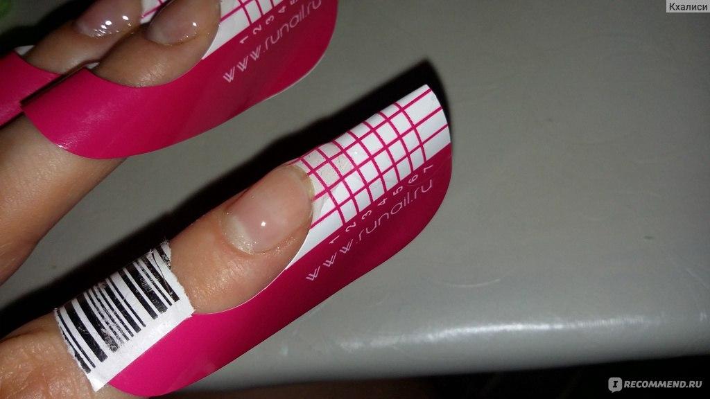 Наращивание ногтей гелем на формах в домашних условиях