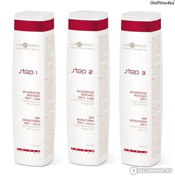Ламинирование волос triple action