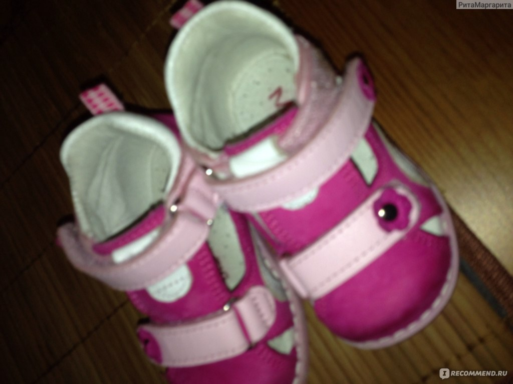 Босоножки ( сандалии) Minitin Ортопедические сандалии на первый шаг фото