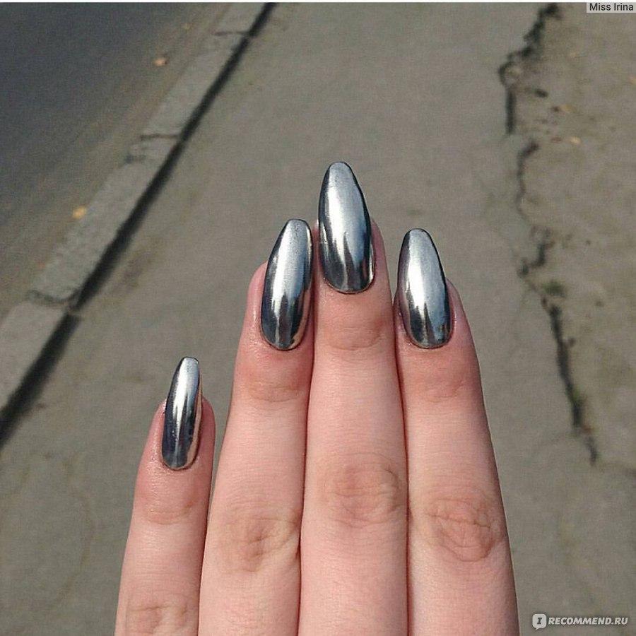 Пигмент для дизайна ногтей Aliexpress Зеркальный Хром Втирка ...