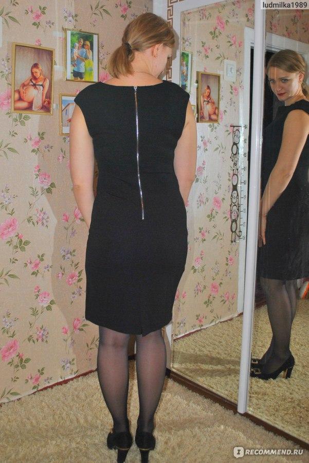 fad5594caf9a Платье AVON BODY ILLUSIONS Черное - «Маленькое черное платье от avon ...