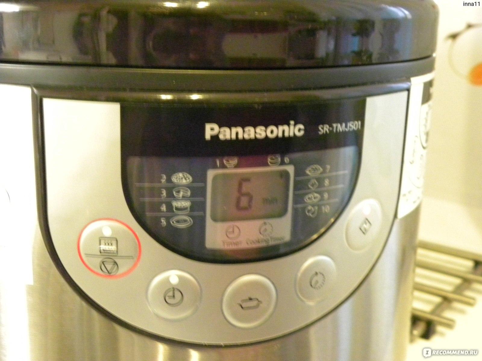 Panasonic Sr-Tmj501 Инструкция