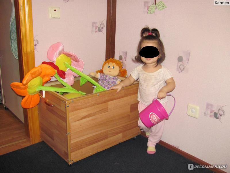Сделай сам своими руками ящик для игрушек