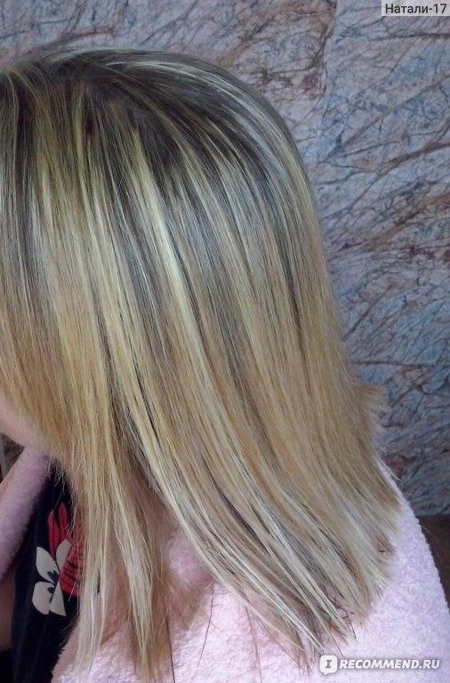 Как сделать мелирование на 3 оксигенте на крашеные волосы