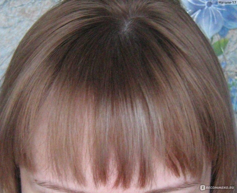Русый цвет волос эстель