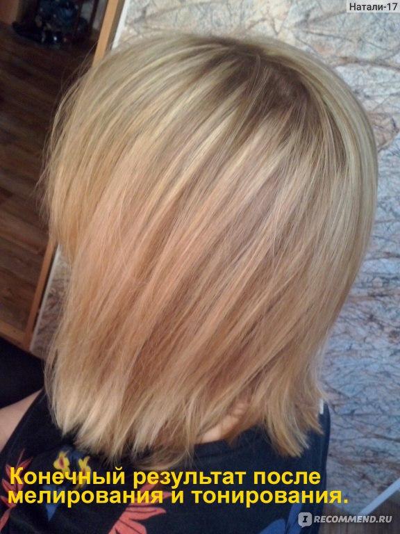 Как осветлить волосы мелированные
