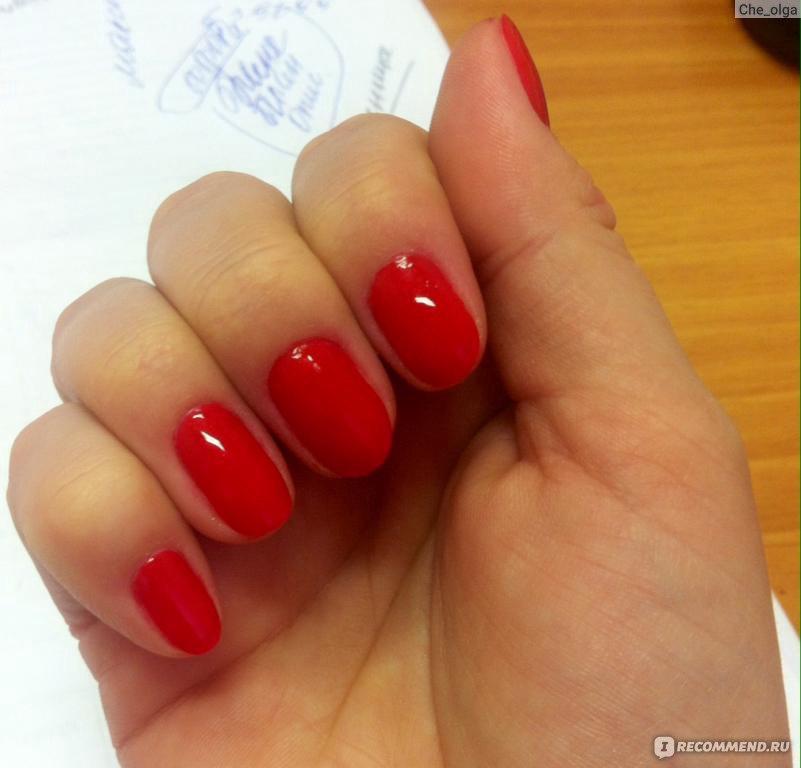 Коралл цвет на ногтях
