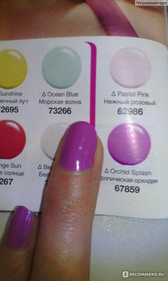 Лак для ногтей эксперт цвета эйвон отзывы идеальный персик