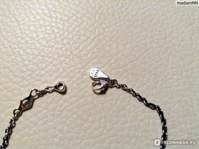 браслет pandora серебряный
