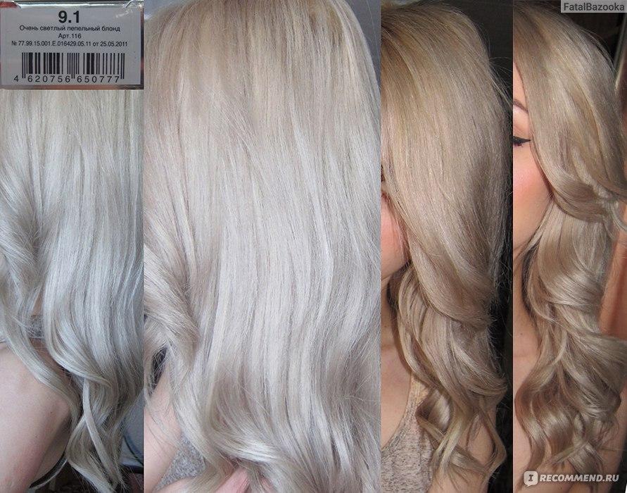 седые волосы и краска для волос лореаль преферанс