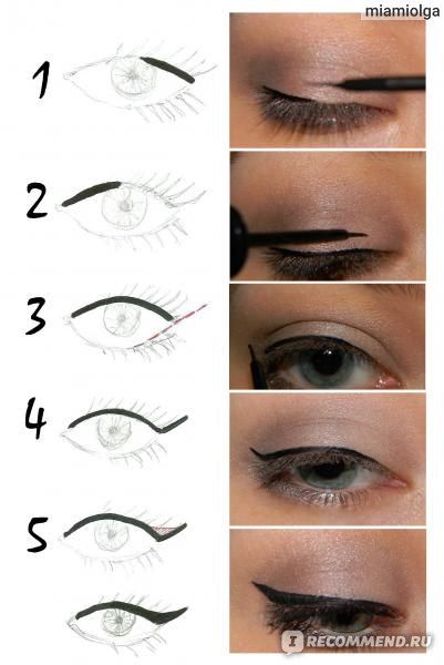 Как сделать глаза карандашом 535