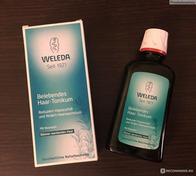 Weleda укрепляющий тоник для роста волос с розмарином отзывы