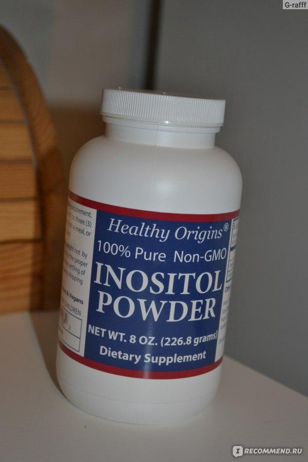 инозитол при лечении инсулинорезистентности без газа