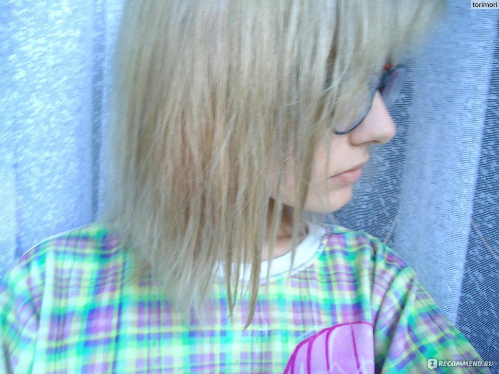 Тоника дымчатый топаз на осветленные волосы