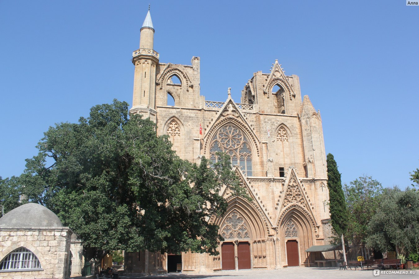 могилы был кипр собор святого николая фото если