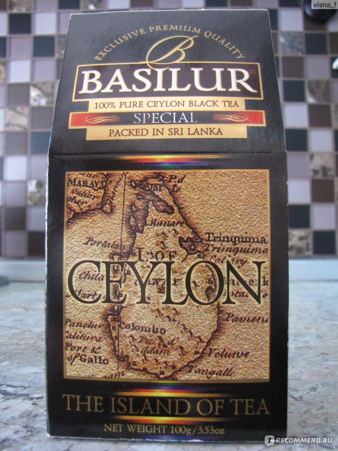 чай Basilur Special ашан