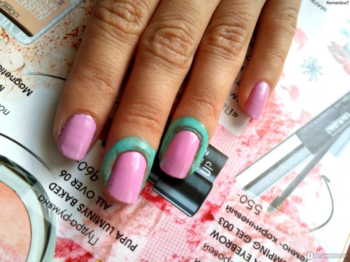 Пленка на ногте фото