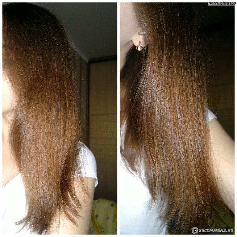 Волосы слипаются в сосульки