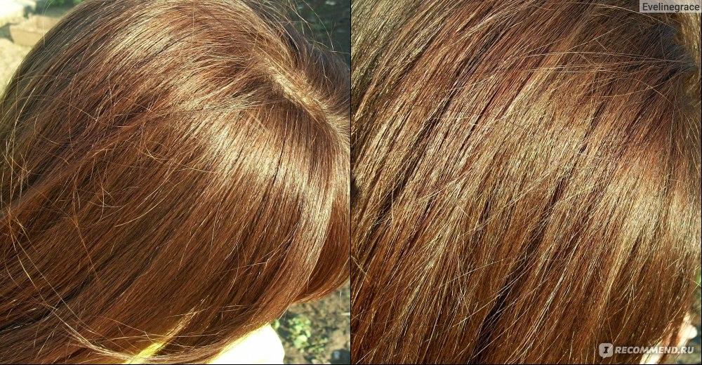 Цвет хны после окрашивания волос