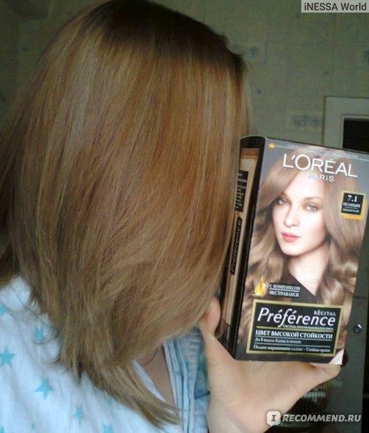 Темный пепельно русый цвет волос лореаль