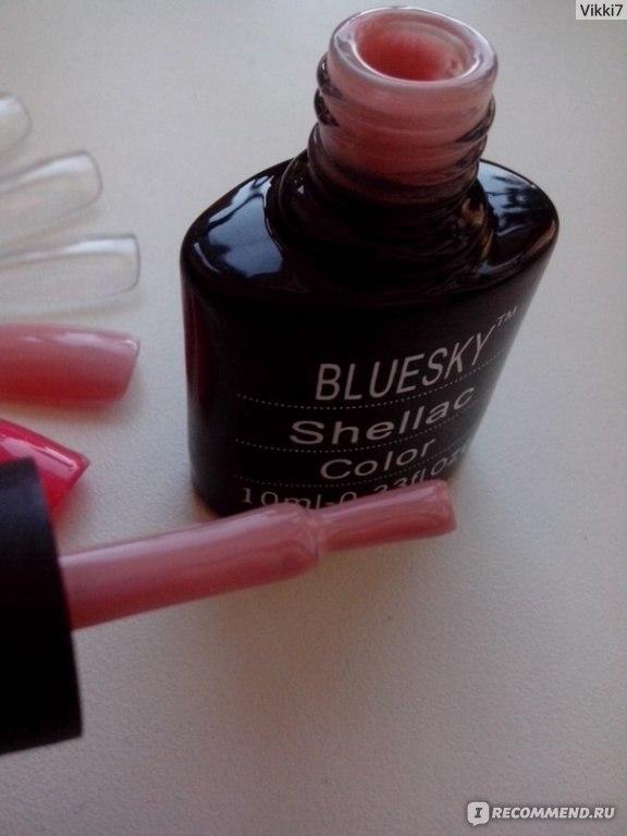 Instructions for bluesky gel nails