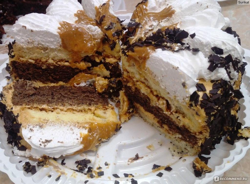 Торт королевский с безе рецепт с фото